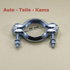 Auspuff Montageschelle für Citroen Abgasanlage, Kat. Mittel + Endtopf /  Ø 69 mm