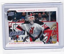 08-09 2008-09 UPPER DECK MVP MARTIN BRODEUR MAGNIFICENT 7s MT-MB DEVILS