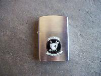 Vietnam era 1965 US Navy Pilot ATKRON 216 Black Diamonds Penguin Lighter
