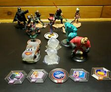 Disney Infinity Lot (11 Characters / 5 Power Discs / 2 Worlds)