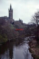 PHOTO  1993 GLASGOW UNIVERSITY AND THE RIVER KELVIN FROM PARTICK BRIDGE