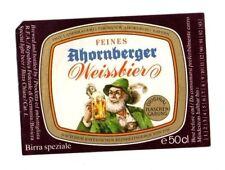 Germany - Beer Label - Landbrauerei Strossner, Ahornberg - Ahornberger Weissbier