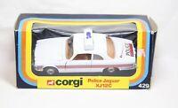 Corgi 429 Jaguar XJ12C Police Car In Its Original Box - Near Mint Vintage Model