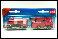 Siku 1661 FIRE FIGHTER SET RESCUE Diecast Car New