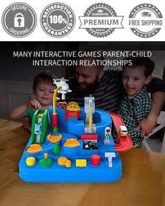 Kids Educational DIY Toys Plastic Car Truck Adventure Game Set Gift 3 4 5 Year