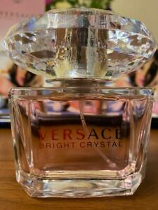 Versace Bright Crystal Eau de Toilette Spray for Women, 3 Oz.