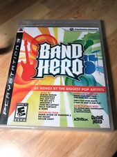 Band Hero - PlayStation 3 PS3 - Game Only + BRAND NEW SEALED - FREE SHIP