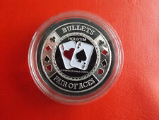 Selten!Poker Chips Poker Card-Guard Las Vegas Nevada *ca,40mm -31g.(Schub2)