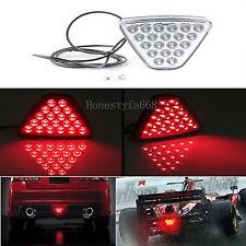 Universal Red 20LEDs Tail Brake License Turn Signal Stop Light Car Truck Trailer