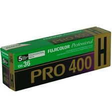 5 Roll Propack Fuji Pro 400H 135 36 exp 35mm Color Negative Film  10-18