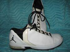 Nike Air Jordan TE 3 lll Low Top Mens Sneakers Shoes Sz 13 White Black Athletic