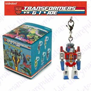 Kidrobot Transformers Vs G.I Joe Vinyl Figure Keychain Series Starscream 3/24