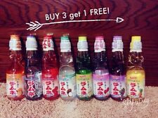 Ramune Sangria Japanese Soda 6.76 oz Carbonate Marble Soft Drink (7 Flavors)