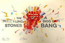THE ROLLING STONES 2006 A BIGGER BANG TOUR OFFICIAL FAN CLUB POSTER / NMT 2 MNT