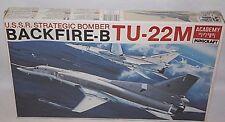 ACADEMY MINICRAFT USSR STRATEGIC BOMBER BACKFIRE-B TU-22M MODEL KIT 1:144 SCALE