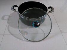 SQ PRO 32CM KITCHEN COOKWARE  NON STICK CASSEROLE DISH PAN SAUCE POT GLASS LID