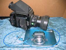 Mamiya RB67 Pro S Medium Format SLR Film Camera Sekor C  90mm Lens & More AS IS