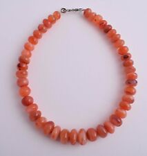 Antique Old Carnelian Agate beads Necklace-trade beads strand-middle eastern