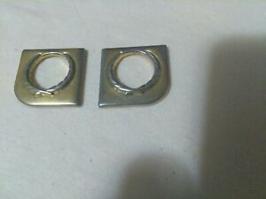 1994-1999 Cadillac ELDORADO DEVILLE SEVILLE Door Lock Keyhole Covers Trim Wreath