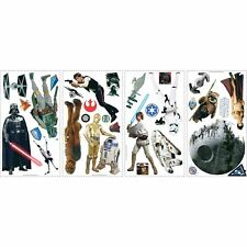 STAR WARS ROOM DECOR WALL KIT DECALS STICKER SHEETS KIDS BEDROOM PLAYROOM