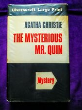 The Mysterious Mr Quin by Agatha Christie (Crime Fiction, Large Print Hardback)