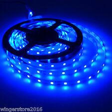 Blue DC 12V 5M SMD2835 Non-Waterproof 300 LEDs Strip Lights Flexible LED Lamp