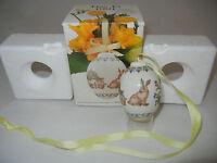 Hutschenreuther Das Ei Porzellan Jahresei Osterei 1991 (meine Pos-Nr. 3)