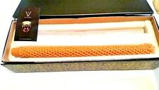 """Candles by Volcanica Beeswax SET OF 2 Palm TAPER 14"""" made in Bali FREE SHIPPING"""