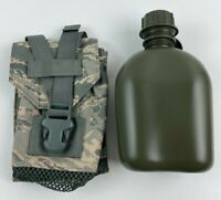 New Air Force USAF ABU DFLCS 1 Quart Canteen & Pouch MOLLE DF-LCS GP Utility MWD