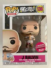 Funko Pop! Rocks: J Balvin #136 W/ Pop Protector!