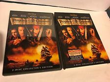 PIRATES OF THE CARIBBEAN CURSE BLACK PEARL (2-Disc Collector's Edition DVD)