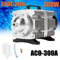 Hailea Portable Electric Air Compressor Pump 45-275L/min Hydroponic Fish Pond X