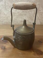 Vintage Miniature Teapot Wooden Handle