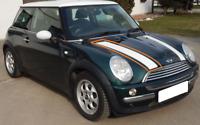 Neu Original Mini R50 R52 Rechts Motorhaube Streifen Band Weiß Aufkleber 7030288