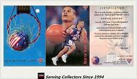 1994 Futera NBL Trading Cards S2 SAMPLE Best Of Both World BW4: Adonis Jordan