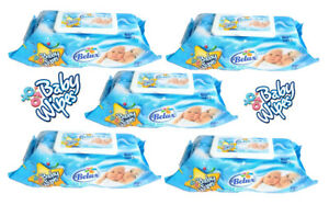 Baby Wipes for Soft Sensitive Skin - 5 Packs x 80 Wipes Total 400 - BELUX PH 5.5
