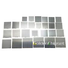 !!27pcs Directly Heat Rework BGA Reball Reballing Universal Stencil Template Set