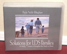 Solutions For LDS Families 24 Weekly Lessons To Strengthen Your Family Mormon CD