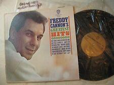 FREDDY CANNON 1966  'Greatest Hits' ORGNL US GOLD LABEL MONO LP MINTY FRESH