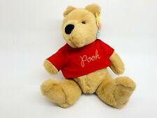 "GUND Sears Disney VINTAGE WINNIE THE POOH BEAR 13"" Plush Stuffed Animal Toy TAG"