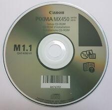CLONE-Canon Pixma Stampante Disco CD driver software per serie MX450