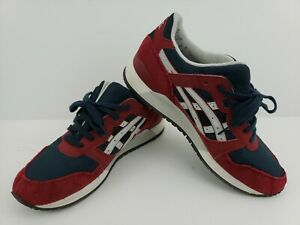 Asics Gel Lyte III Running Shoes Mens Sz 10 Maroon H440N Walking Jog Gym Rare