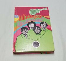 The Monkees - Who's Got The Button? - Vintage Hardcover Book - 1968