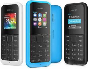 Nokia 105 Dual Sim 2015 Mobile Phone Random Color