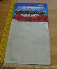 MAN-AT-ARMS Masters of the Universe Mattel 1981 figure card backing ONLY!