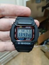 Casio G-Shock solar square watch with radio time and J&K bull-bars!