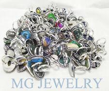 BULK SALE ! Wholesale 2500Pcs Mix Ring Lot Gemstone 925 Sterling Silver Plated