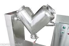 110V/60HZ V-Type Mixer Blenders Powder Mixing Machine V-50 Lab Pharma Use