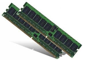 2x 1GB 2GB ECC 533 Mhz Fujitsu-Siemens Fujitsu Celsius M430 Speicher RAM