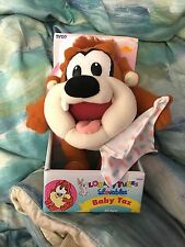 Looney Tunes Lovables Baby Taz plush